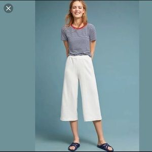 BLUE Saturday Sunday Wide Leg Terrycloth Pants